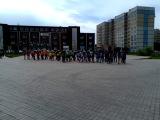 Флеш моб на последний день в школе(шк 93 г.Тольятти)